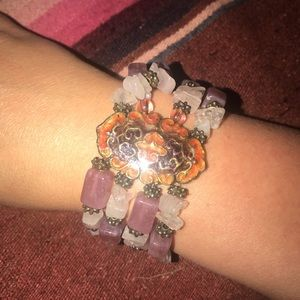 Stretchy boho bracelet - from Bloomingdales